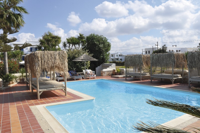 Naxos, Studio Appartement Athina, Pool