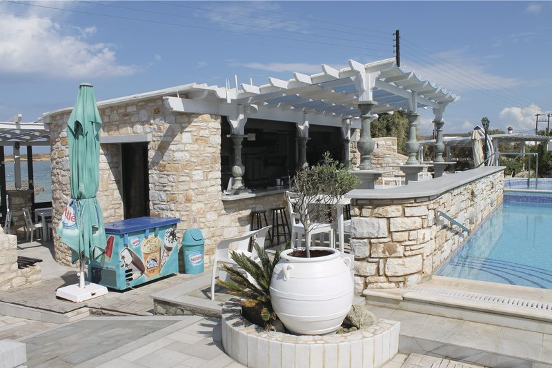 Paros, Hotel Contaratos Beach, Pool