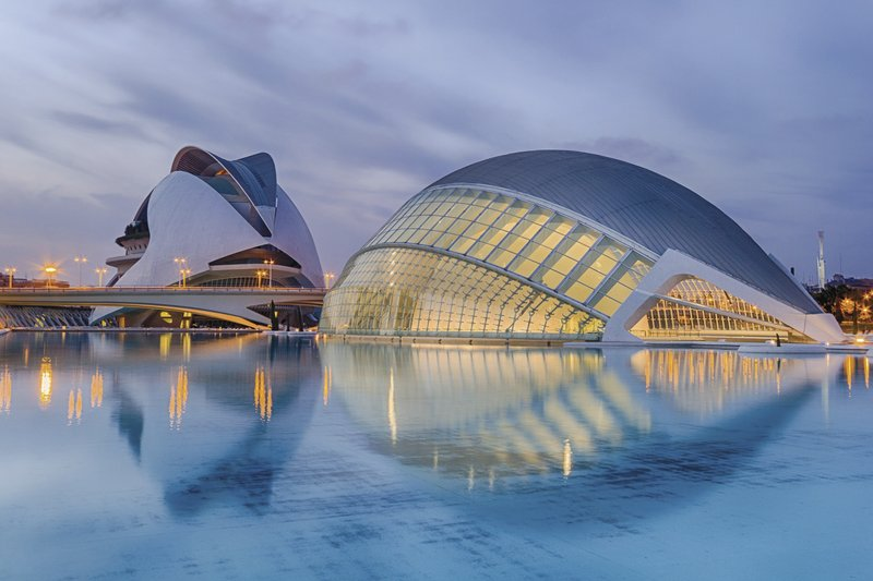 Valencia Kulturcampus Santiago Calatrava