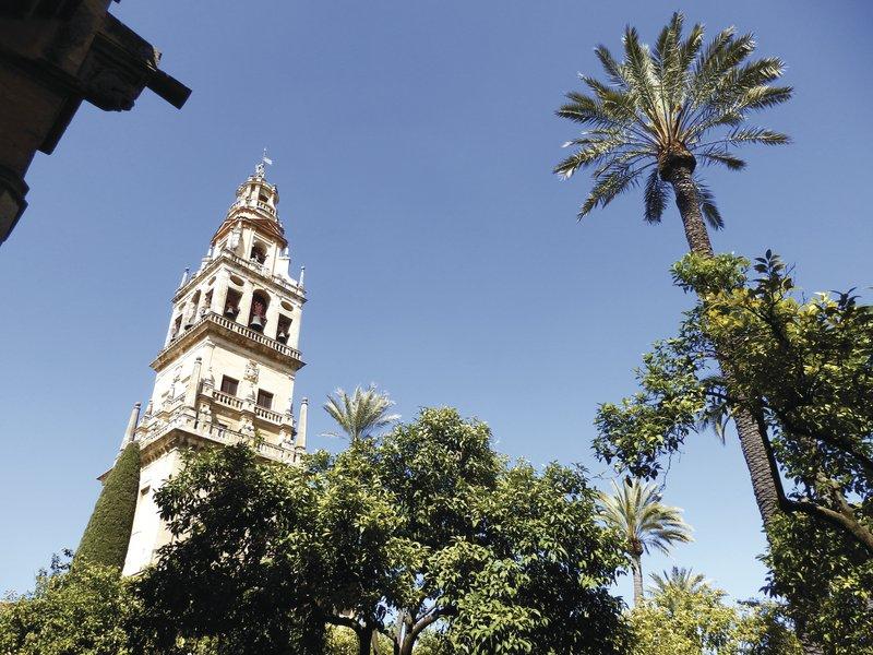 Andalusien, Cordoba, Mezquita Glockenturm