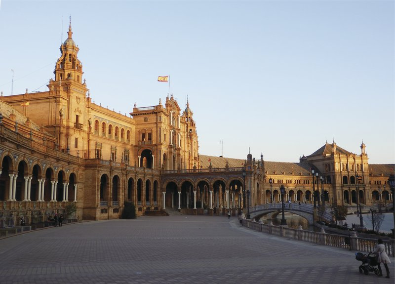 Andalusien, Sevilla, Plaza Major